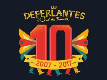 Miniature des Déferlantes, les 10 ans, du 8 au 11 juillet 2017